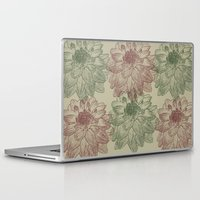 peonies Laptop & iPad Skins featuring Peonies by Zen and Chic