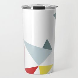 Triangles in the Sky Travel Mug
