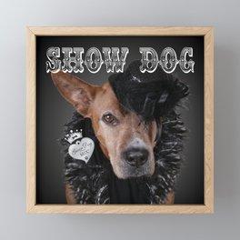 ShowDog Framed Mini Art Print