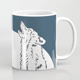 Pra Loup Howling Wolf Coffee Mug