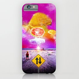 The Day of the Jellies iPhone Case