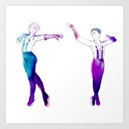 Duetto Art Print