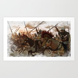 Ancient Warriors Art Print