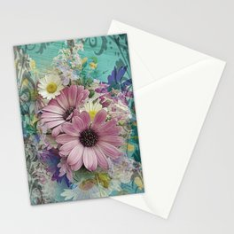 Happy Colors Daisies Stationery Cards