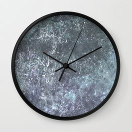 Dead Nebula B Wall Clock