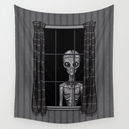 The Visitor Wall Tapestry