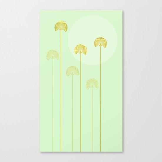 milk with mint Canvas Print