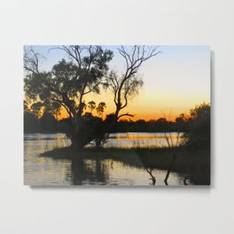 African Sunsets Metal Print
