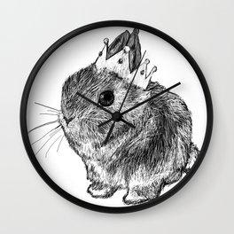 Bunny Queen Wall Clock