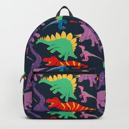 Dinosaur Domination - Dark Backpack