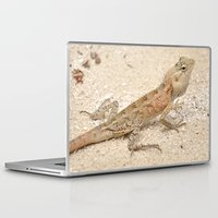 lizard Laptop & iPad Skins featuring Lizard by Bonjourik