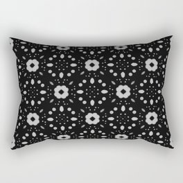 Bold Bloom   No. 6   Floral Repeat Pattern Rectangular Pillow