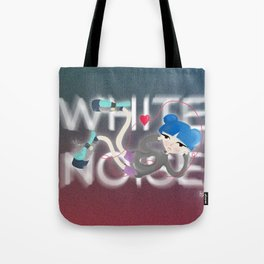 White Noise - digital version Tote Bag