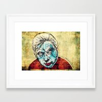 bacon Framed Art Prints featuring Bacon by Alec Goss