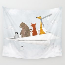 plane sailing Wall Tapestry