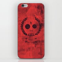 mars iPhone & iPod Skins featuring Mars by Hector Mansilla