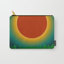 Summer Eclipse Carry-All Pouch