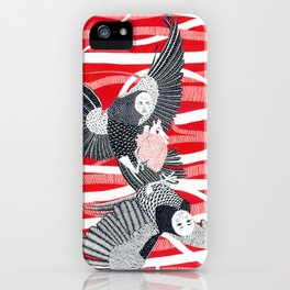 Alchonst and Sirin iPhone Case