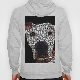 Stone Rock'd Dog 2 by Sharon Cummings Hoody