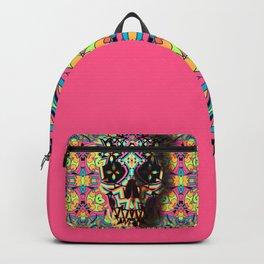 d9f6754e3eb Geometric Skull Backpacks   Society6