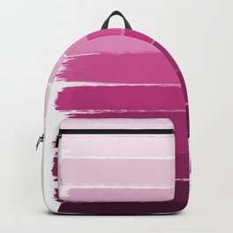 Dephne - ombre brushstrokes trendy colorful painting abstract art decor Backpack