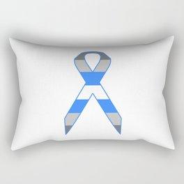 Demiboy Ribbon Rectangular Pillow