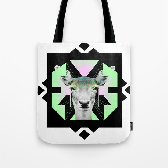 ::Space Deer:: Tote Bag