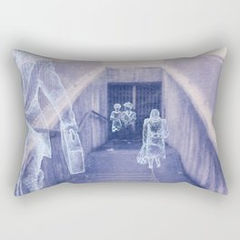 The city remembers; underground tunnel Rectangular Pillow