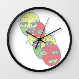 World Flag Wall Clock