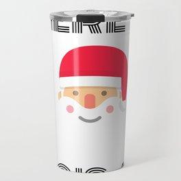 Where my ho's at - christmas santa funny saying Travel Mug