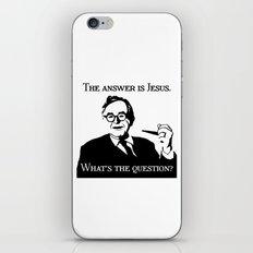 Karl Barth iPhone & iPod Skin