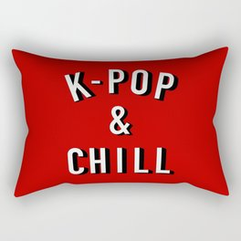 K-Pop & Chill Rectangular Pillow