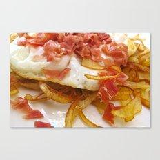Bacon & Egg Breakfast Canvas Print