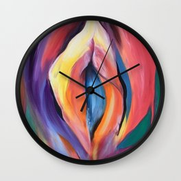 Internal Stardust Wall Clock