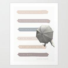 Vague as a Fog Art Print