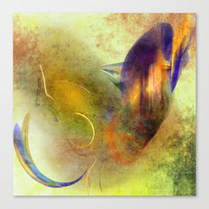 Fractal Design and Texture Canvas Print
