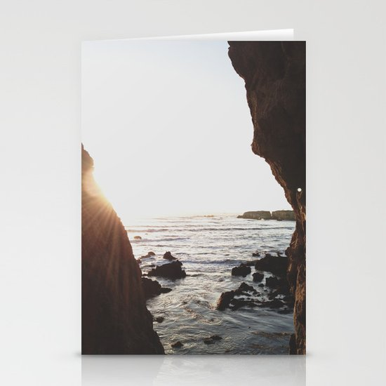 Shell Beach View Stationery Cards