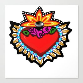 Heart Milagro Canvas Print