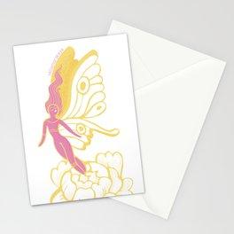 Peony Fairy Stationery Cards