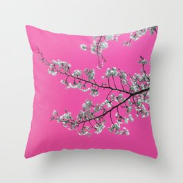 Spring, Cherry Blossom Time Throw Pillow