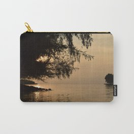 Tranquil Lagoon Carry-All Pouch