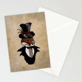 Dandy Fox Stationery Cards