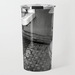 Servants' Accomodations / Black & White Travel Mug