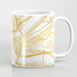 PITTSBURGH PENNSYLVANIA CITY STREET MAP ART Coffee Mug