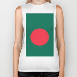 Flag Of Bangladesh Biker Tank