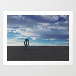 Colorado Silhouette Art Print