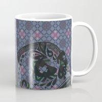 geo Mugs featuring GEO  by NENE W
