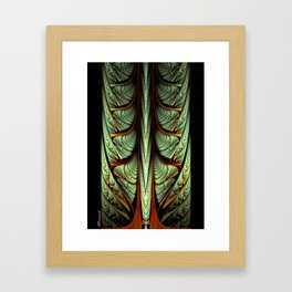 The Grace of the Old Framed Art Print