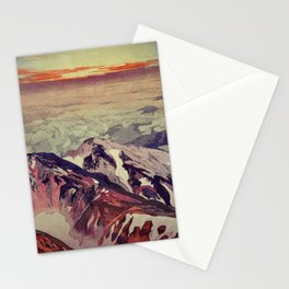 Victory the Climb Stationery Cards
