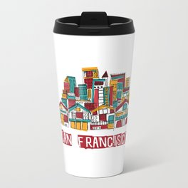 San Fransisco Metal Travel Mug